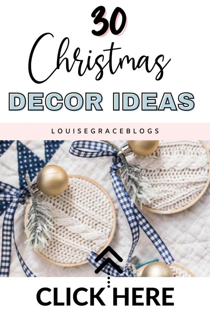 30 DIY Christmas decoration ideas