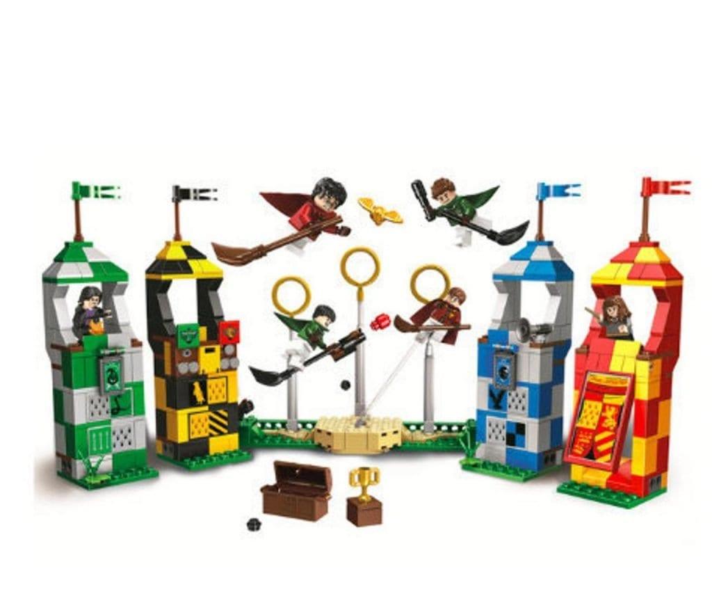 Custom Lego Harry Potter Quidditch Match Set