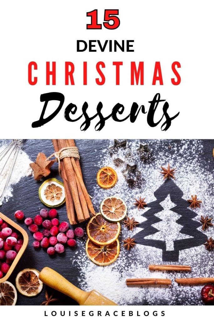 15 Divine Christmas dessert recipes