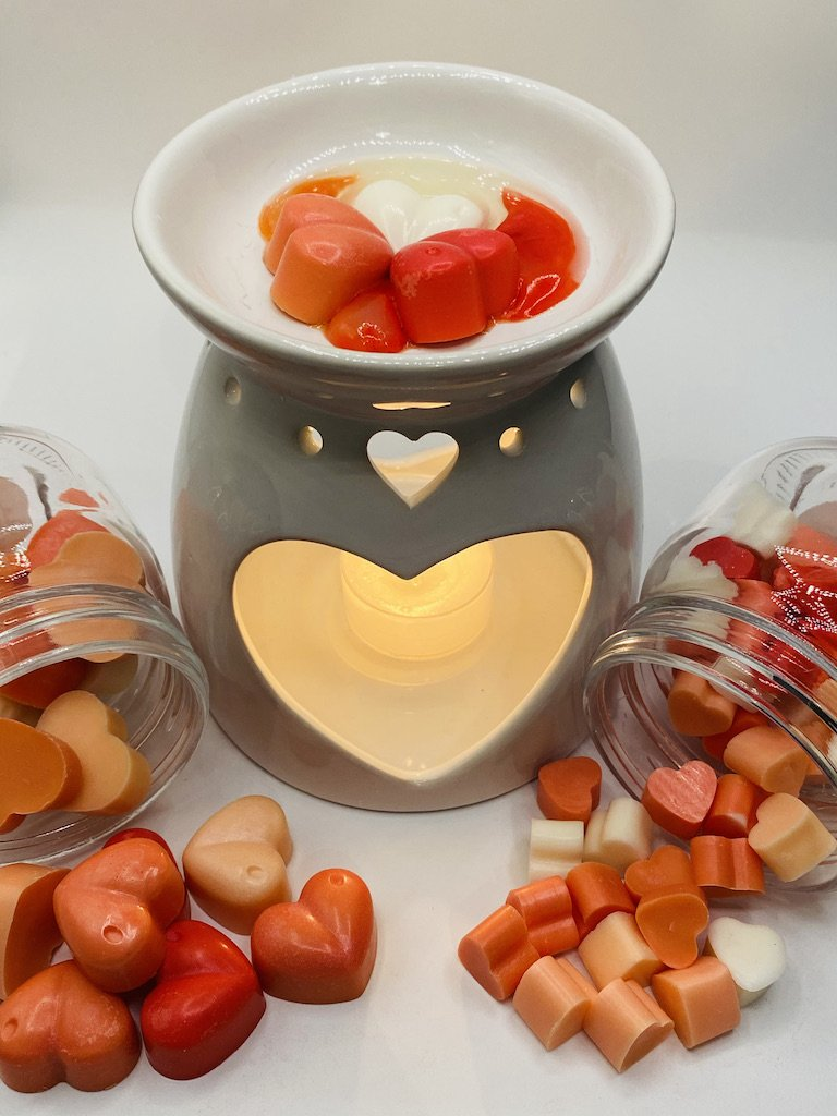DIY Valentines inspired soy wax melts