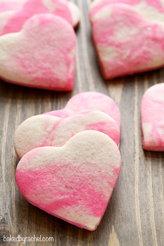 Valentine inspired cookie recipes