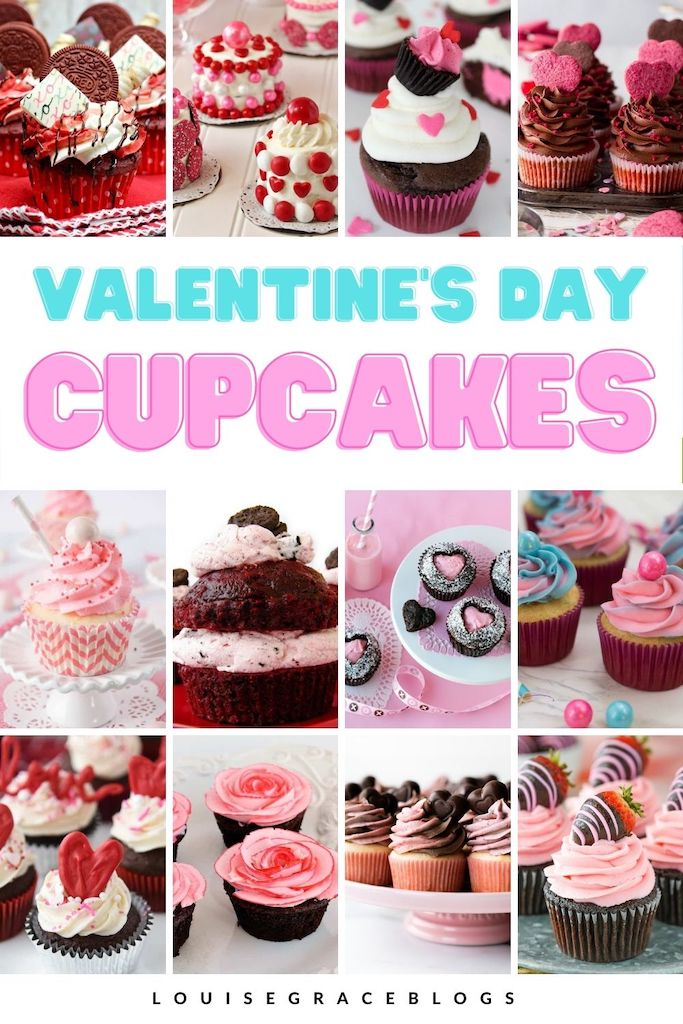 15 Valentine cupcake recipes