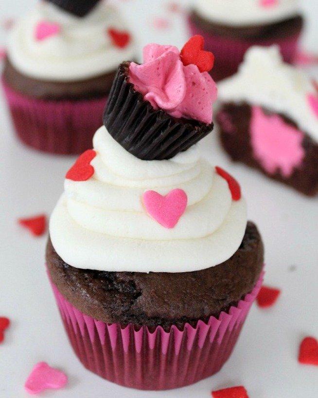 Valentine inspired cupcake recipes