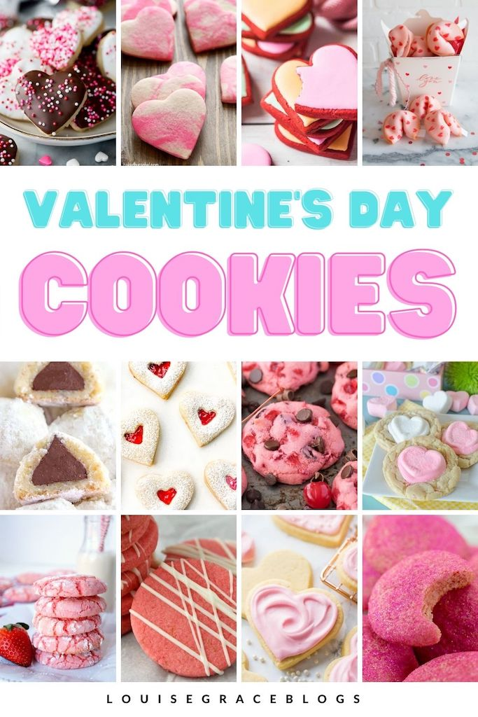 15 Valentine inspired cookie recipes