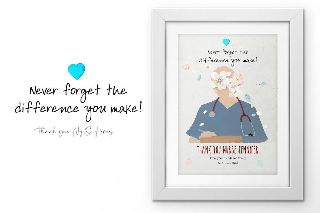 Personalised nurse gift