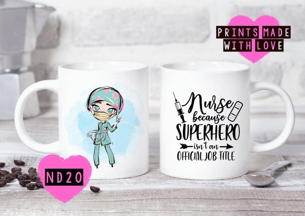 Personalise nurse mug
