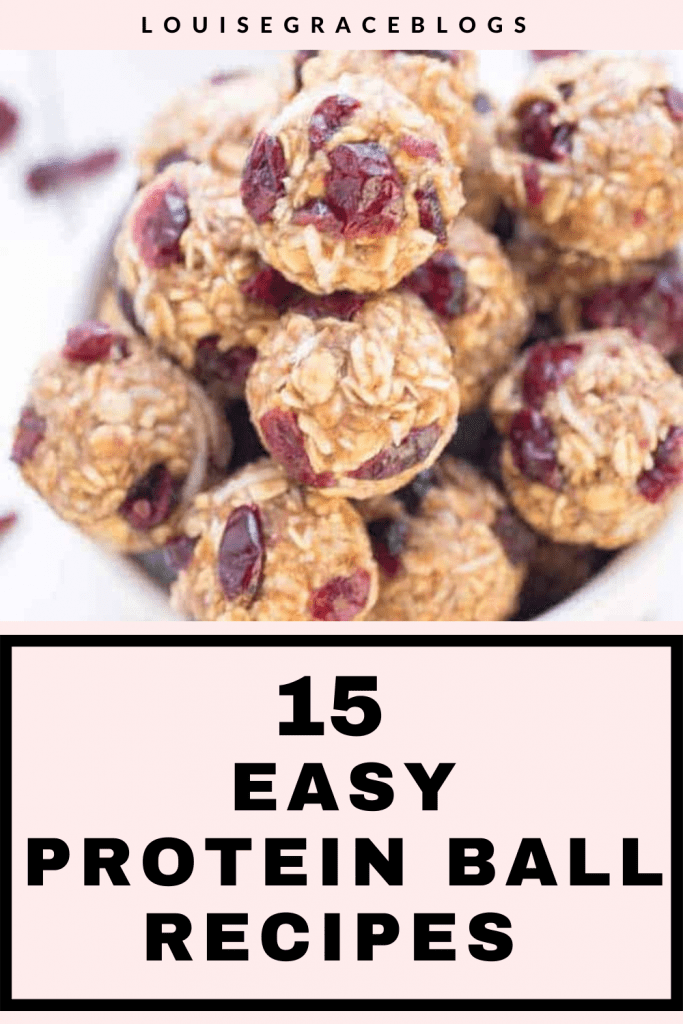 15 Easy protein ball recipes