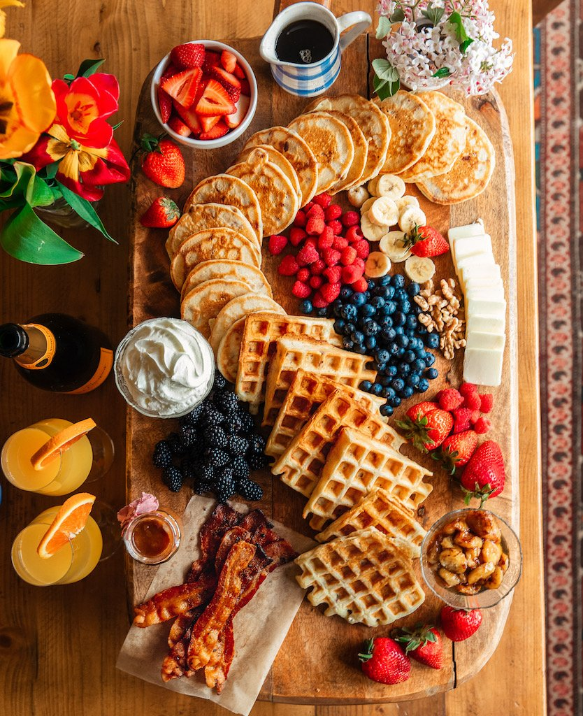 Breakfast charcuterie board ideas