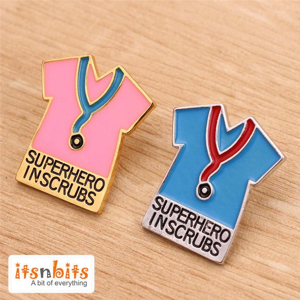 Nurse pin badges